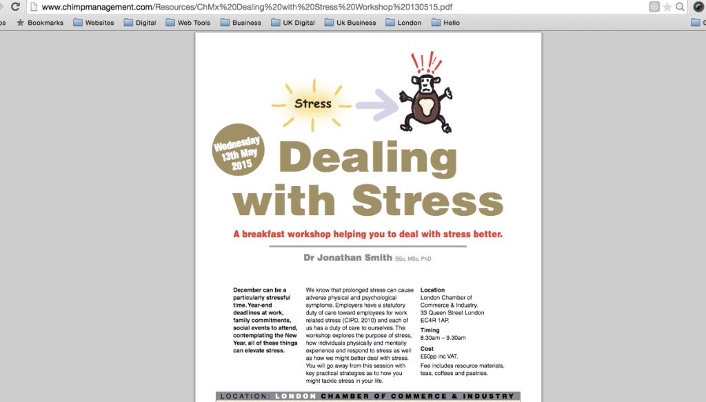 Landing Page in PDF