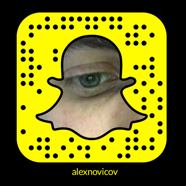Why you need to be on Snapchat - Alexander Novicov