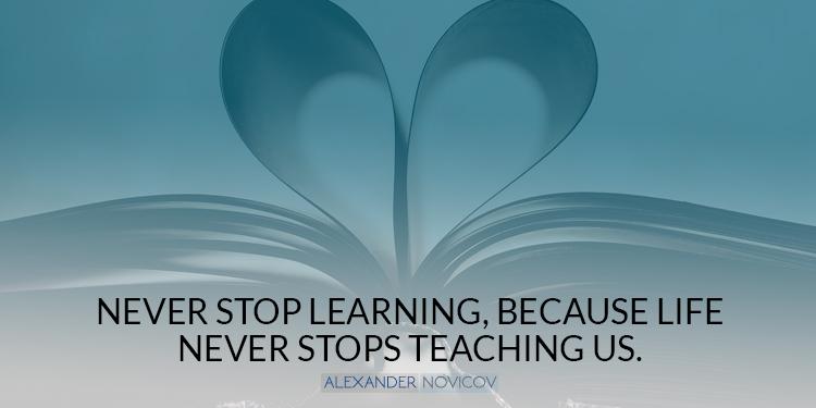 neverstoplearning